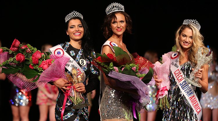 Miss Czech Slovak America 2015 winners